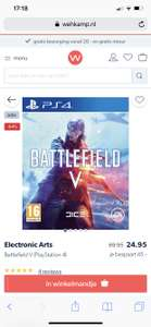 Battlefield V voor PS4 en Xbox One