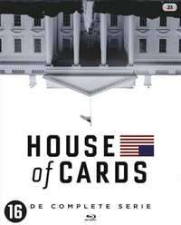 House of Cards S1 t/m S6 op Blu-Ray of DVD @Bookspot.nl