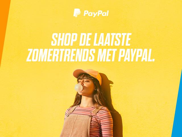 Met PAYPAL 25% korting bij 3 webwinkels, superga.nl, mexx.com/nl en shiwi.com