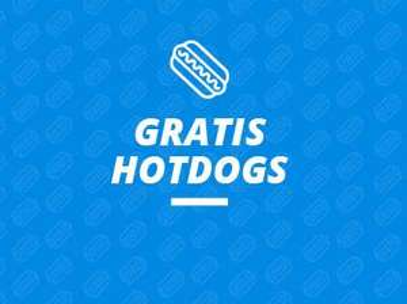 Gratis Hotdogs bij Mantel in the Wall Utrecht