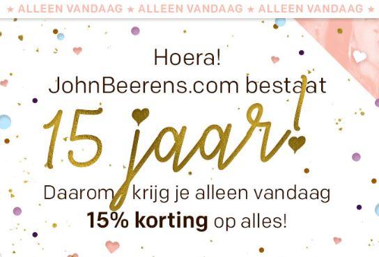 Met code 15% korting - ook op sale @ John Beerens