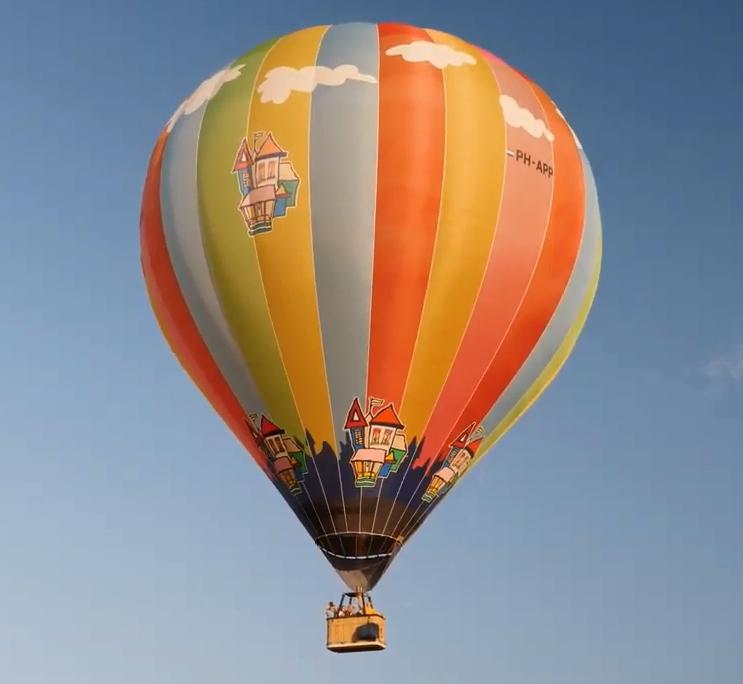 Gratis Ballonvaart voor zieke Kinderen [Staphorst]