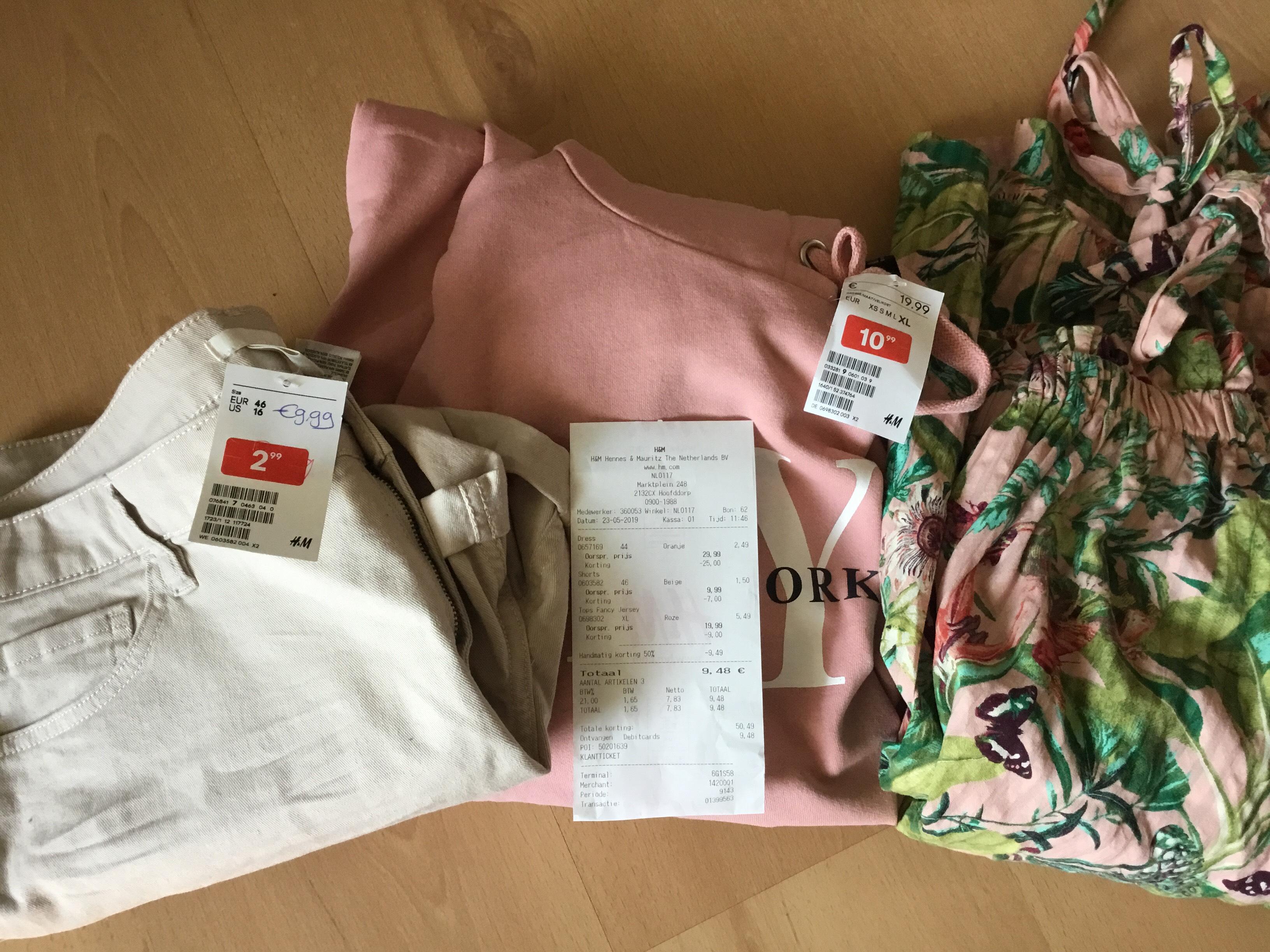 H&M tot 50% extra korting op de sale in store
