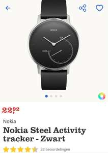 Nokia Steel Activity tracker - Zwart