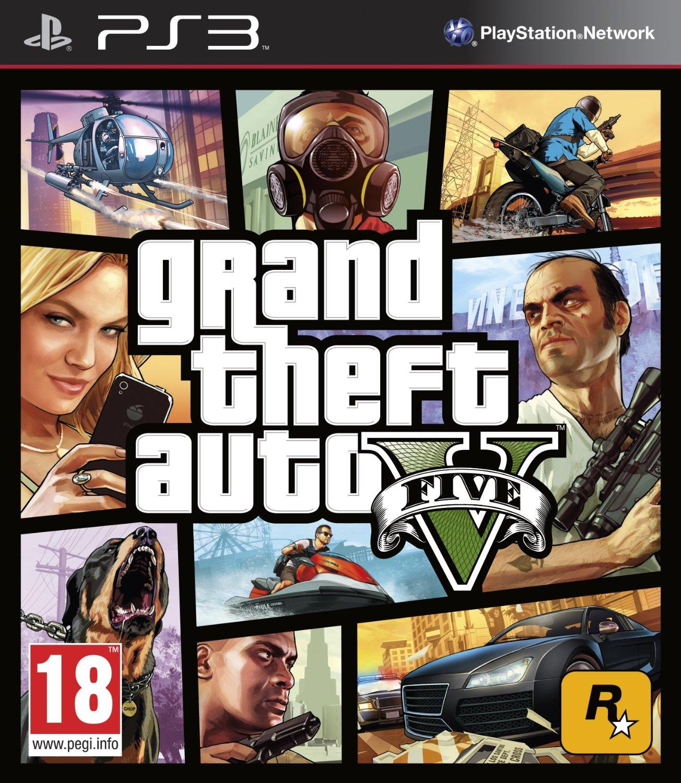 GTA V (PS3/Xbox 360) voor € 30,48 @ Amazon.de