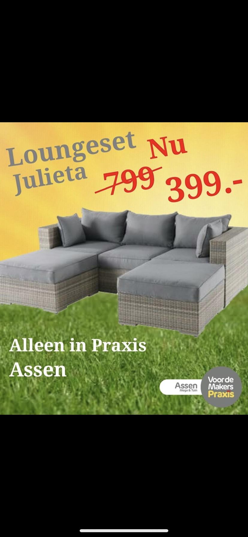 [Lokaal] Loungeset Julieta @Praxis Assen