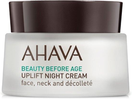 [Prijsfout?] AHAVA Beauty Before Age Uplifting Nachtcrème 50 ml voor €7,49 @ Bol.com