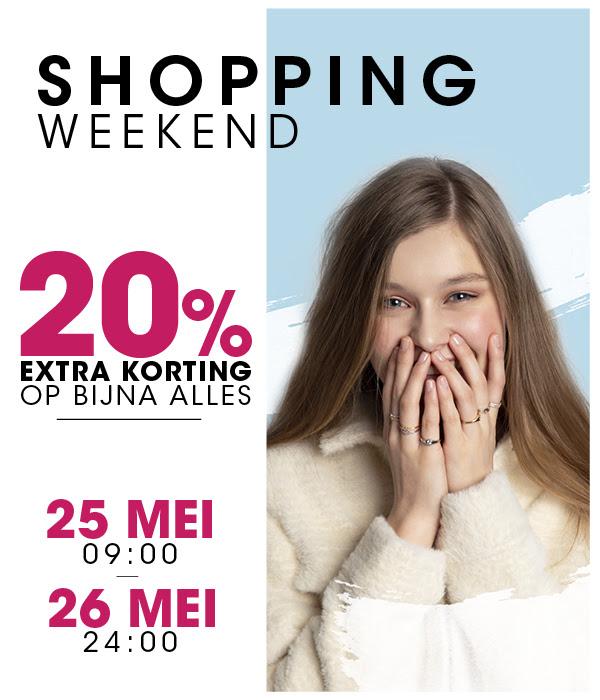 Shopping Weekend: 20% extra korting op bijna alles @ Lucardi