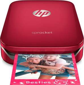 HP Sprocket Rood Mobiele Fotoprinter @Bol.com