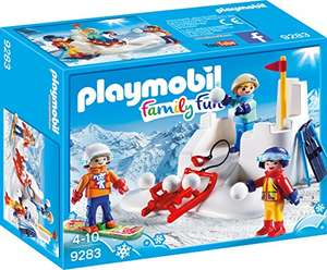 Playmobil Sneeuwballengevecht (9283) @Amazon.de