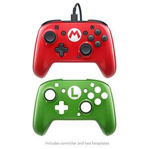 Switch Super Mario Wired Pro Controller @Amazon.fr