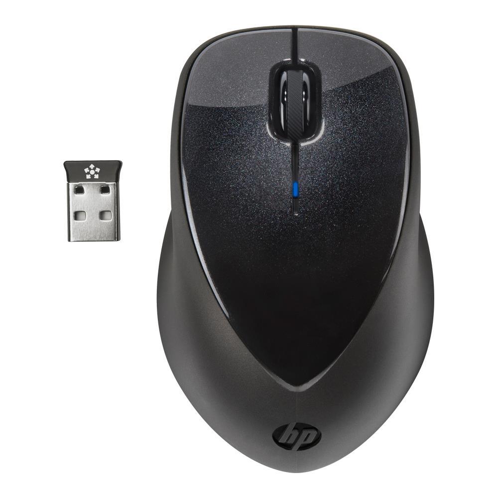 HP Wireless Mouse X4000 (Zwart) voor € 15,- @ BCC