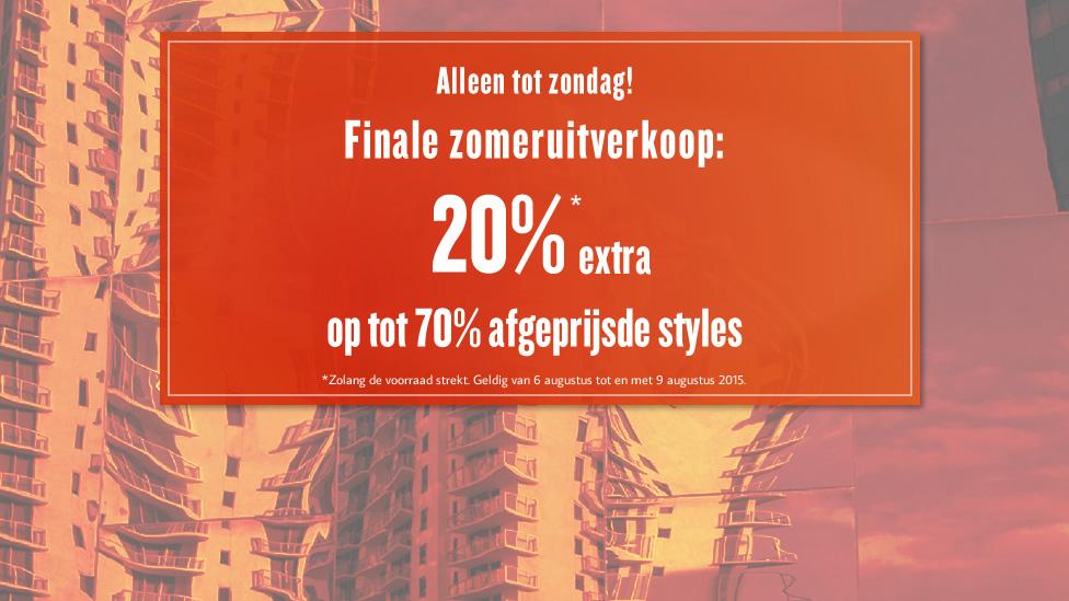 Sale met kortingen tot 70% + 20% extra korting @ Tom Tailor