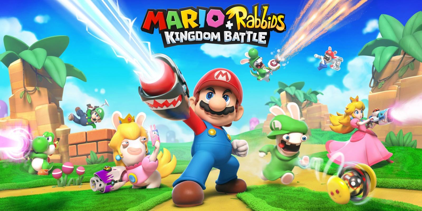 Switch: Mario + Rabbids® Kingdom Battle