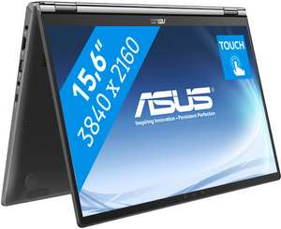 Asus ZenBook Flip 15 met UHD scherm en i7 @Coolblue
