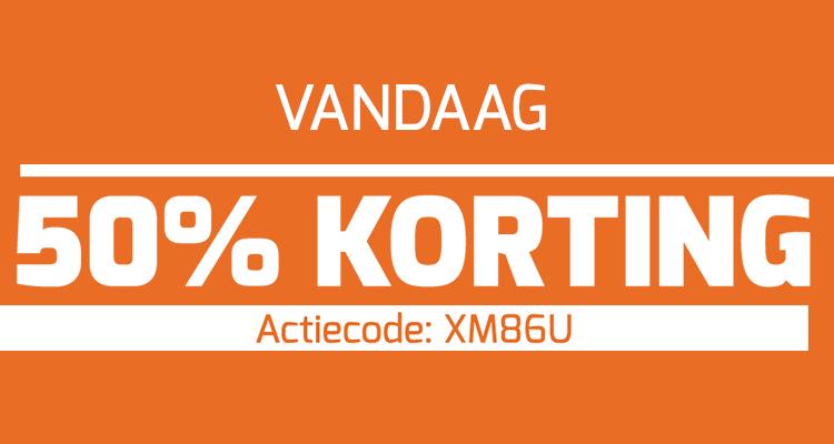 50% korting vandaag bij Wijnvoordeel.nl
