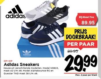 Adidas sneakers N5923 dagaanbieding @Vomar