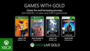 Games with Gold voor Xbox - Juni 2019