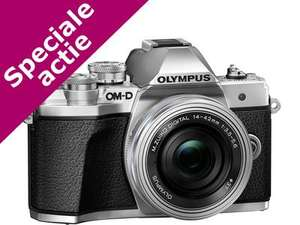 ING rentepunten: Olympus E-M10 Mark III Premium kit (14-42mm pancake EZ + 40-150 mm)
