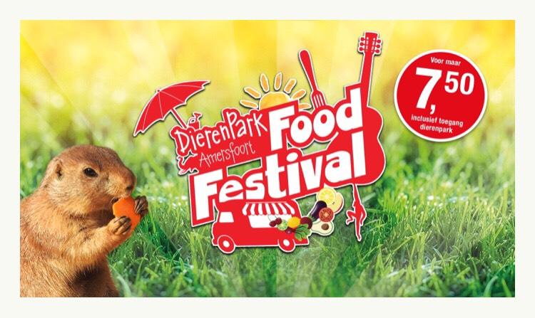 Food festival (incl. entree) €7,50 @Dierenpark Amersfoort
