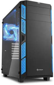 Sharkoon AI7000 (Glass/Silent) tower behuizing voor €29 @ Alternate