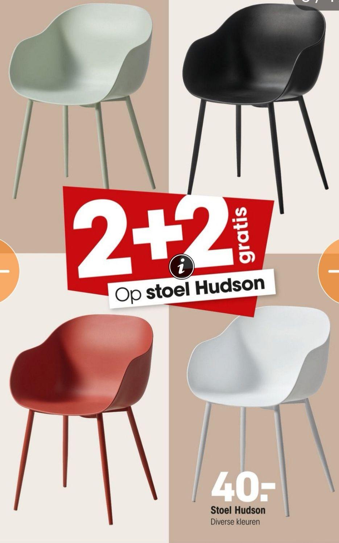 Kuipstoel 'Hudson' 2+2 gratis