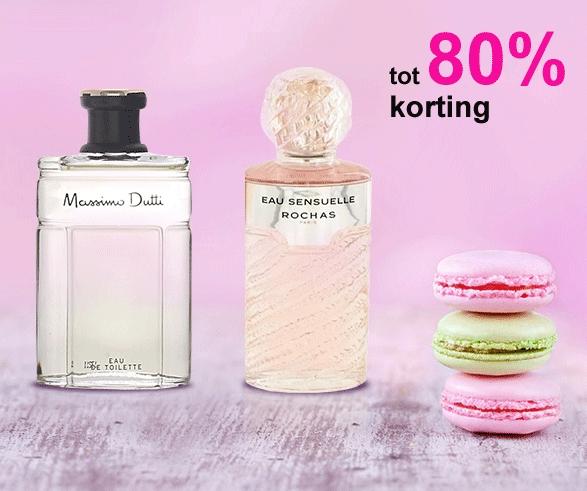 Parfum SALE met tot 80% korting - dames & heren - @Showroomprivé + verzenden €4,40