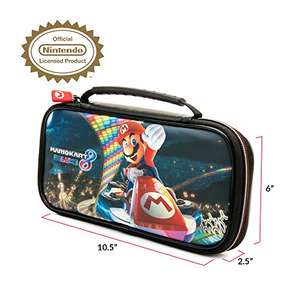 Nintendo Switch beschermhoes - Official Licensed Super Mario Odyssey en Mario Kart 8 Travel Case NNS 50