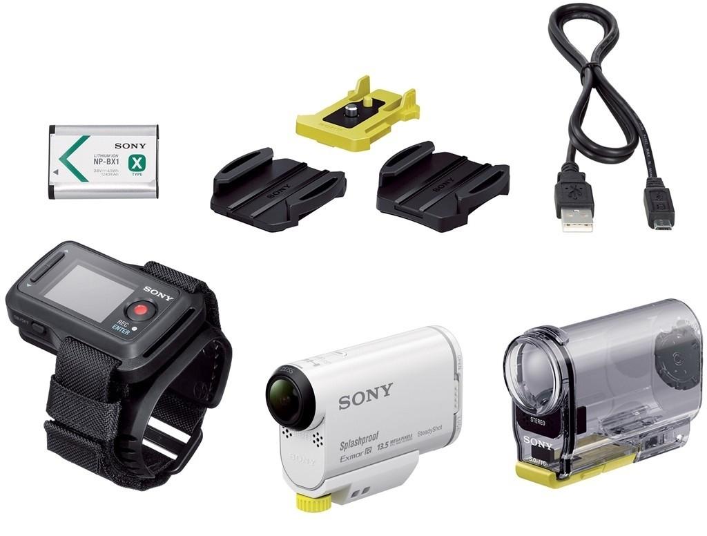 Sony HDR-AS100V Camera + waterdichte hoes + Live-View-afstandsbediening voor €249,- @ Klein en Camera