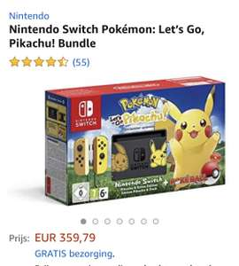 Nintendo Switch Pokémon: Let's Go, Pikachu!
