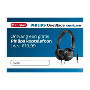 Philips Oneblade of Sonicare + gratis Philips SHL5005/00 @Kruidvat