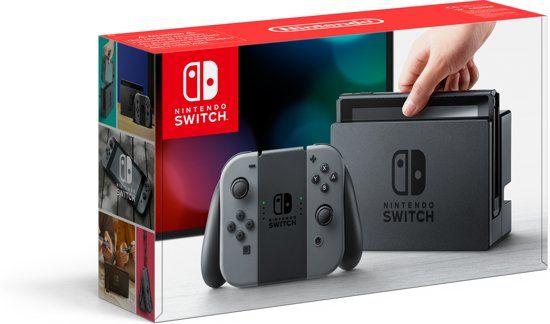 Nintendo Switch grijs €299 - met cashback €284,05 || Media Markt