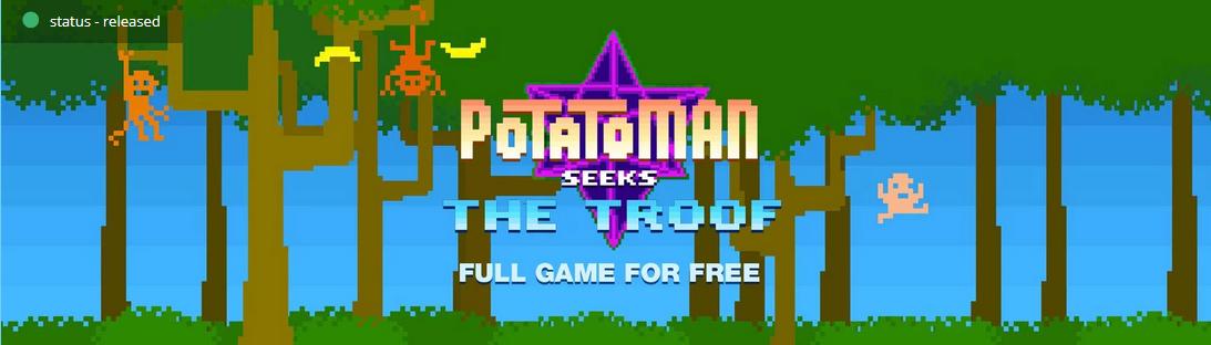 Gratis Potatoman Seeks the Troof @Indiegala