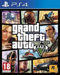Grand Theft Auto V (GTA 5) PS4 @Amazon.de
