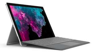 Microsoft Surface 6 Pro i5 128/8GB + Office 2019 @Amazon.de