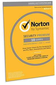 Norton Security Premium | 10 apparaten | 1 jaar