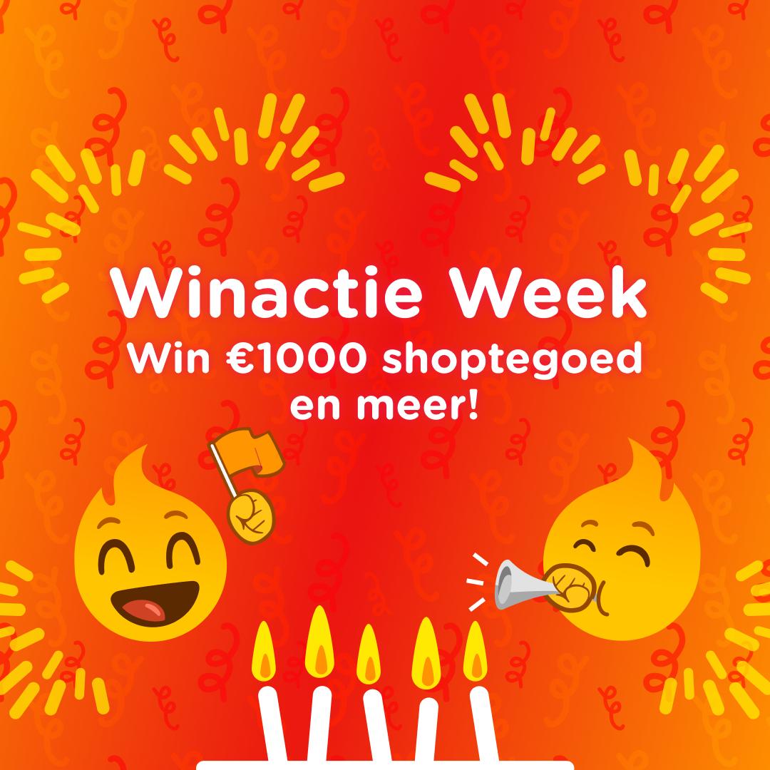[Winactie Week] Maak kans op €1000 shoptegoed en nog veel meer!