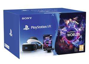 PlayStation VR V2 + Camera V2 + VR Worlds (Game Mania / Sony Days of Play deal)