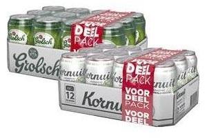 Grolsch 12-pack (Normaal, Radler en Kornuit)