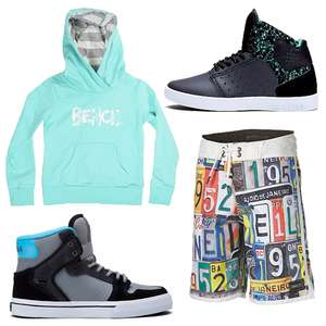 Veel kids streetwear + sneakers sale 50-75% + 15% extra korting met de code @ Planet Sports