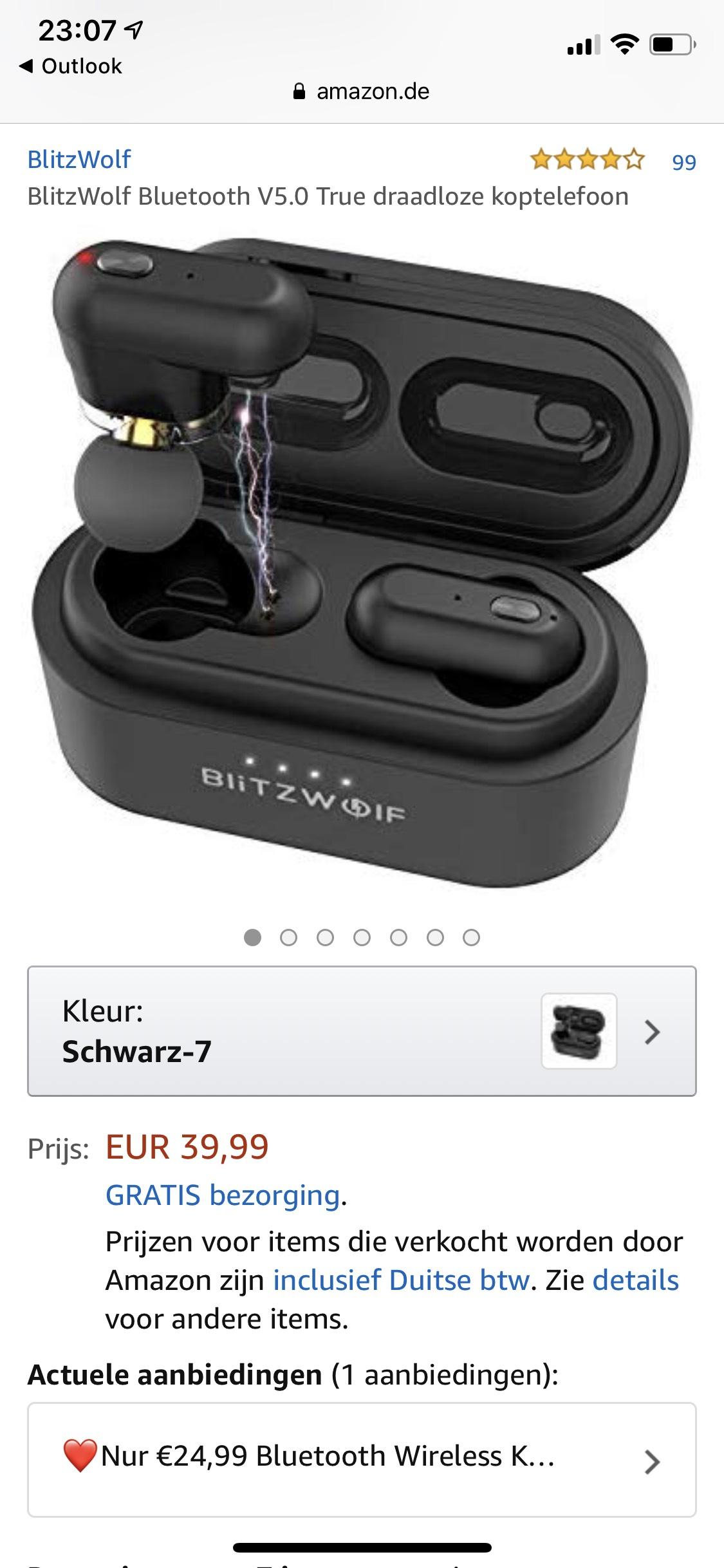 Blitzwolf BW-FYE7 Bluetooth 5.0 wireless earphones