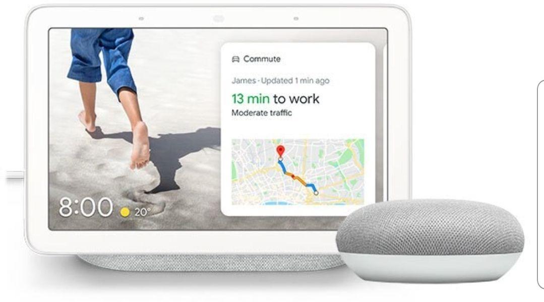 [Airmiles] Google Nest Hub + Google home mini cadeau