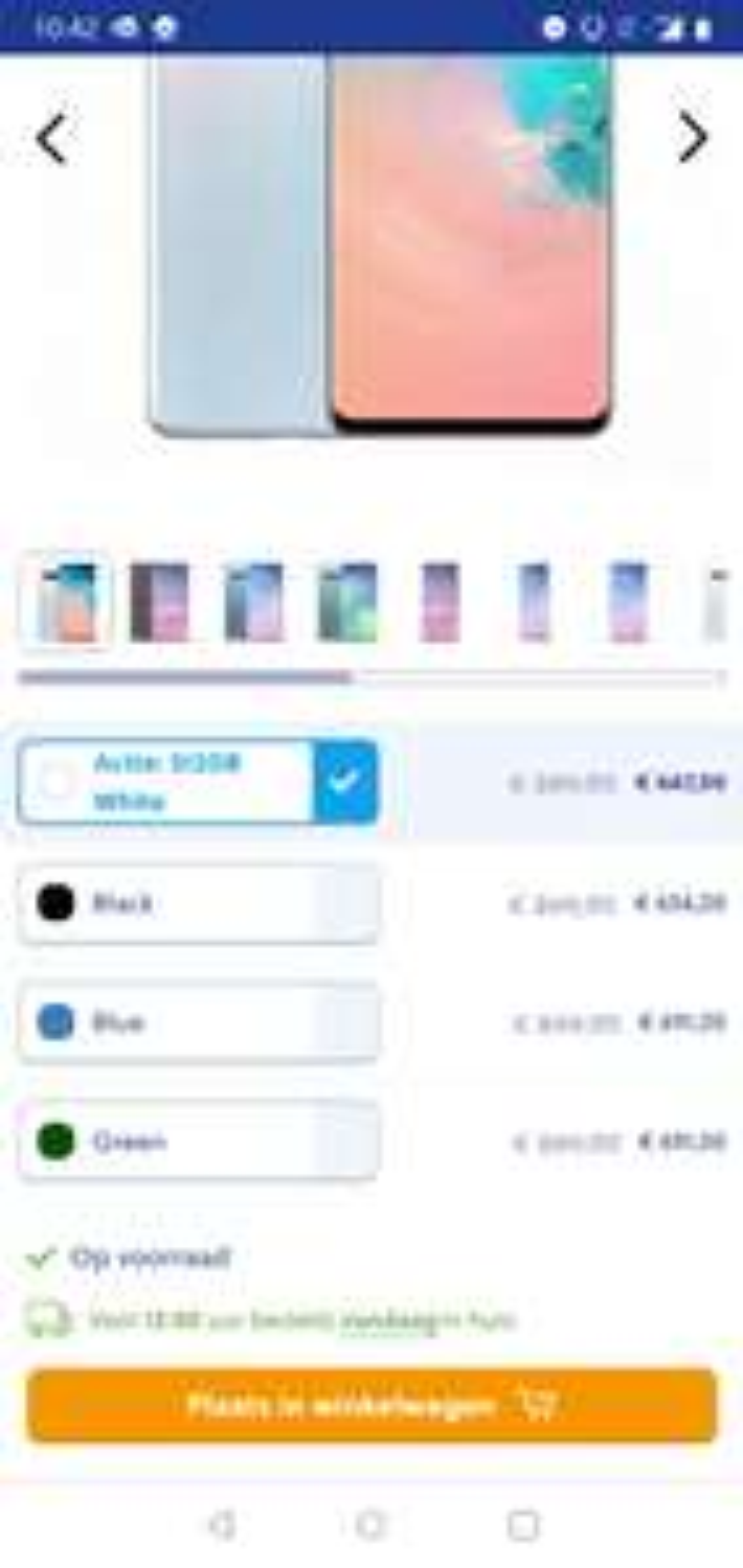 Samsung Galaxy S10 - 512 GBWit