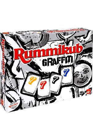 Rummikub Graffiti  19,99 ipv 32,95 (boekenvoordeel.nl)