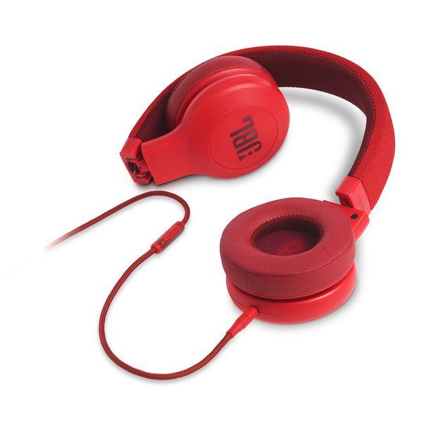 JBL E35 rood Hoofdtelefoon voor €29,69 @ JBL Store