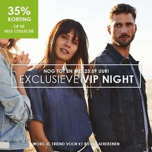 Jeans Center VIP Night 35% korting