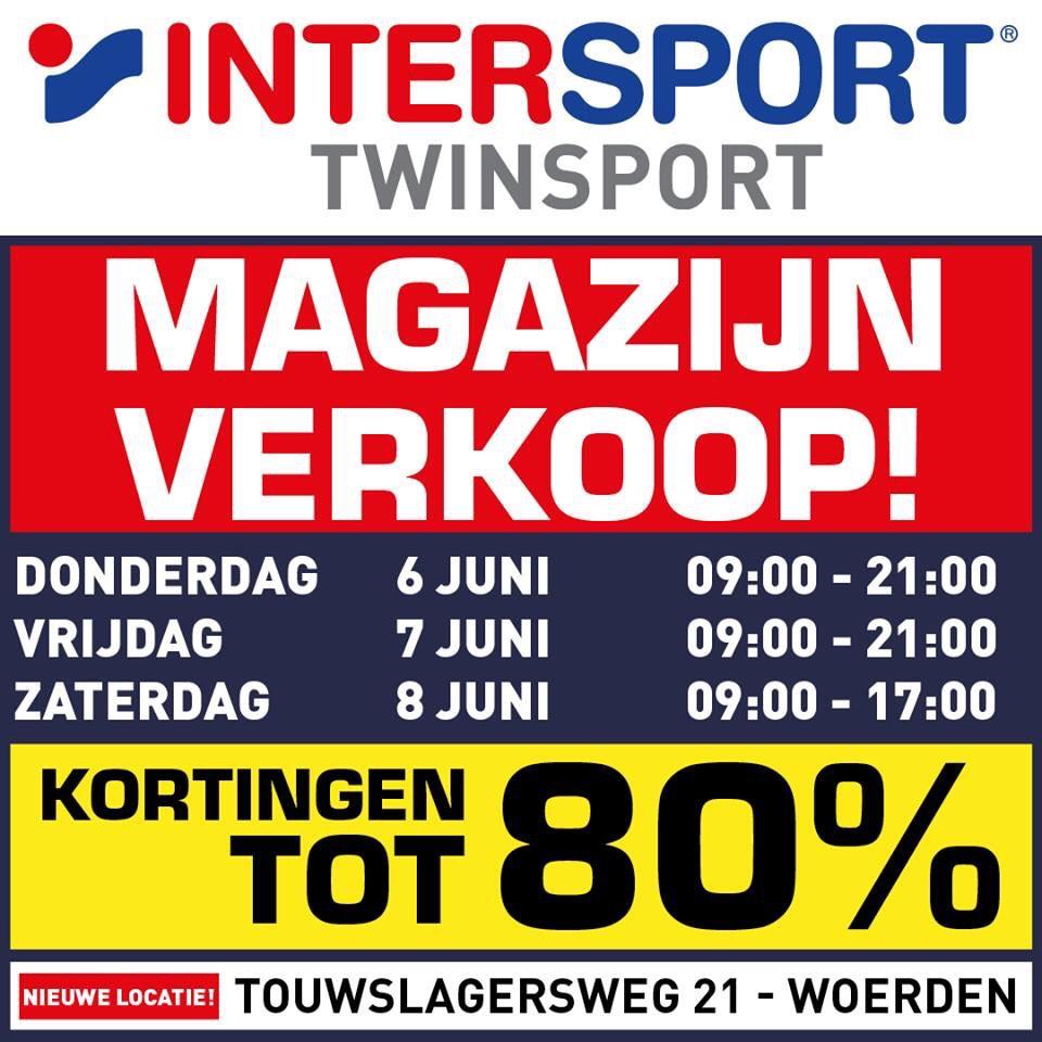 [Lokaal] Magazijn uitverkoop Intersport Twinsport (Woerden)