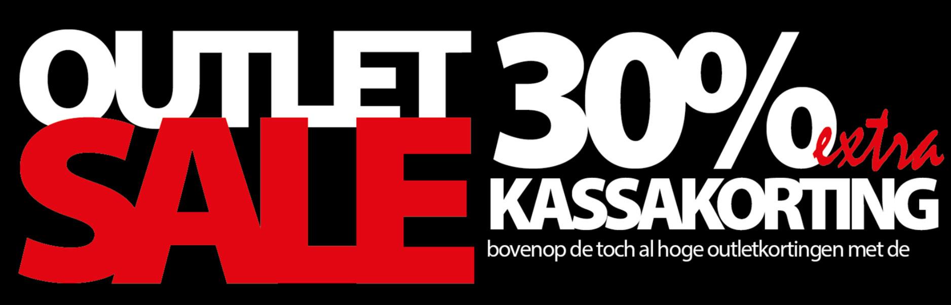 Met code 30% EXTRA korting op outlet (tot -80%) @ Voorwinden