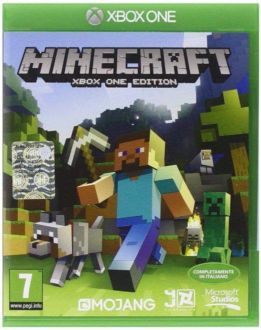 Minecraft - Xbox One Edition voor €9,73 Amazon.it