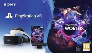 Playstation VR V2 + Camera + VR Worlds